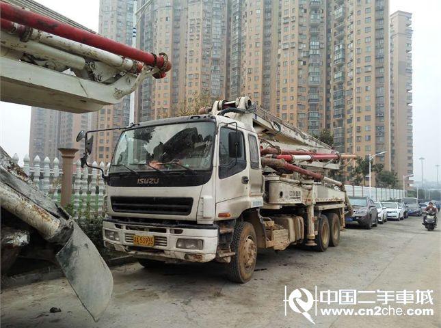 【长沙】中联重科 中联 混凝土车载泵 价格38.00万