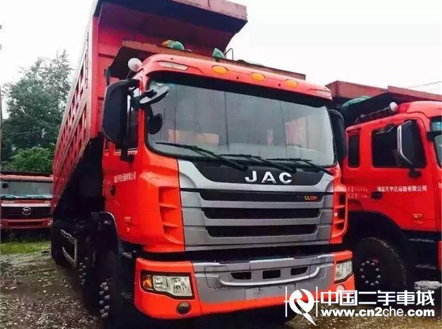 江淮 江淮格尔发m系列 自卸车 重卡 340马力 8x4 前四后八