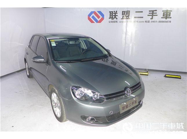 【哈尔滨】2012款二手一汽大众 高尔夫 1.6 手动舒适型 价格8.98万