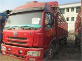 青岛解放 悍威(J5M) 载货车 重卡 240马力 6X2 前二后六  仓栅排半(CA52