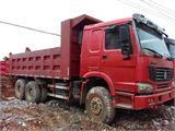 中国重汽 豪沃 自卸车 前二后八