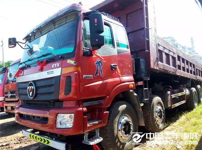 【高安二手车】自卸车二手欧曼 etx 9系重卡 375马力 8x4 自卸车(bj图片