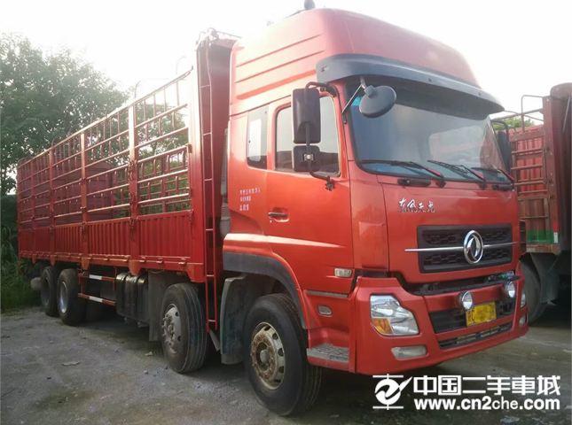 东风 天龙 载货车 重卡 340马力 8X4 前四后八  仓栅