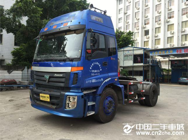 福田  油罐车 欧曼 260马力 8X2 油罐车(ETX-2200高顶驾驶室)