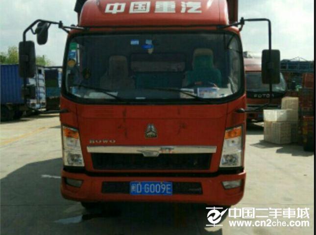 重汽王牌 轻卡  115马力 4X2 自卸车(CDW3080A3B3)