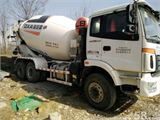 福田 欧曼 混凝土搅拌车 340马力 6X4 混凝土搅拌车(BJ5253GJB-XA)