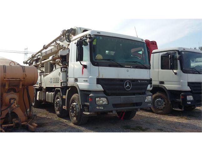 奔驰 奔驰 泵车 混凝土泵车