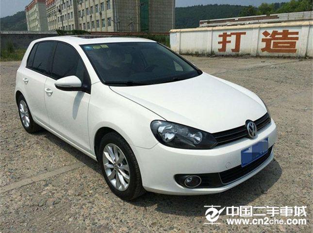 【宁波】2012款二手一汽大众 高尔夫 1.6 手动舒适型 价格7.20万