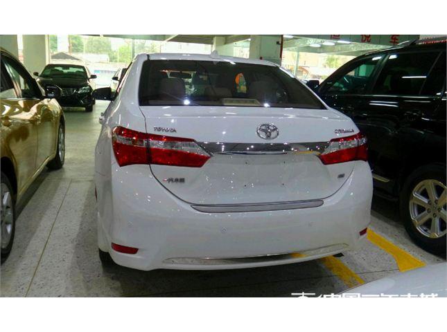 【郑州】2014款二手一汽丰田 卡罗拉 1.6l gl-i cvt 价格8.80万