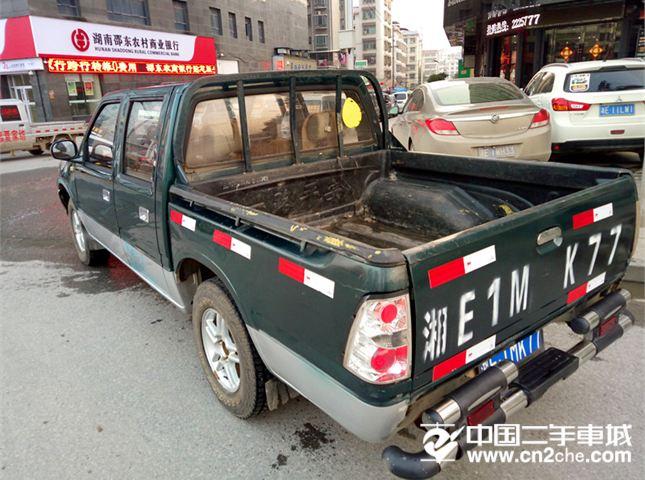 福田 萨普 2012款 V 征服者II 2.8L柴油 双排皮卡