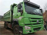 中国重汽 豪沃  A7 豪沃国四自卸车前二后八336马力,厢长5.6米