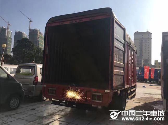 中国重汽 豪沃 载货车 160马力 4X2 厢式载货车(ZZ5167XXYG5615C1)