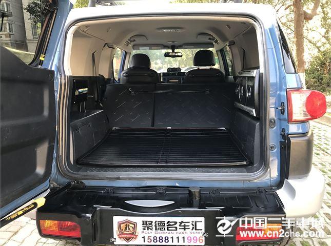 【无锡】2011款二手丰田 fj酷路泽(进口) 4.0l 价格37.80万