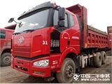 一汽解放 J6 350马力奥威大泵机,12档法士特,5.6米车厢,底14边10