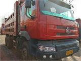 东风柳汽 霸龙 二手高栏货车九米六前四后八,柳汽霸龙310马力玉柴发动机。