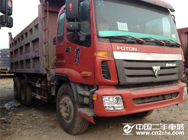 【高安二手车】自卸车二手欧曼 gtl 9系重卡 375马力 6x4 自卸车图片