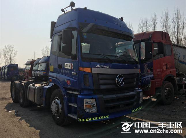 福田 欧曼  GTL 6系重卡 420马力 6X4 牵引车(BJ4259SMFKB-16)