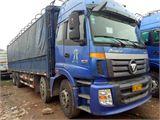 福田 欧曼 载货车 ETX 6系重卡 310马力 8X4 仓栅载货车(BJ5318VPCJJ-5)