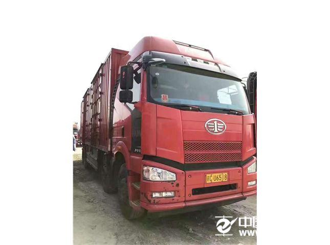【宜春】一汽解放 j6 二手厢式货车前四后八解放j6九米六.图片