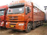 东风柳汽 乘龙 载货车 H7重卡 336马力 8X4 9.6米仓栅式