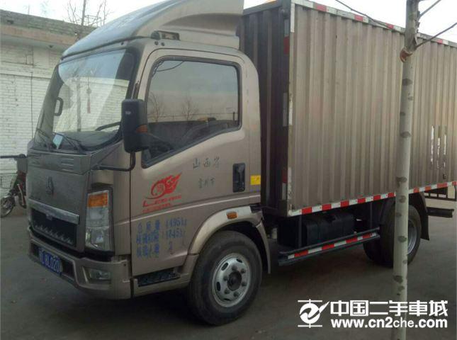 中国重汽 豪沃  厢挂车