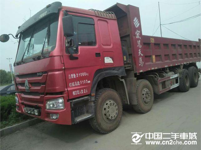 中国重汽 豪沃  重卡 336马力 8X4 前四后八