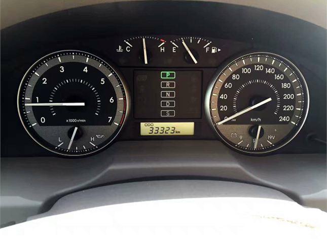 丰田 兰德酷路泽  4.0L VX