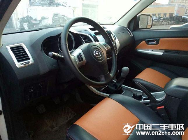 黄海 黄海N2 2015款  2.4L 手动 四驱 运动版 汽油
