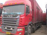 江淮 江淮格尔发H系列 载货车 重卡 270马力 8X4 前四后八  厢式