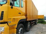 东风 天龙 载货车 重卡 270马力 8X4 前四后八  厢式(翼开启)