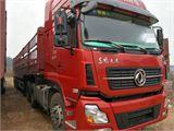 东风 天龙 二手二拖三牵引车东风天龙国四420马力雷诺发动机,13米高栏高低板,
