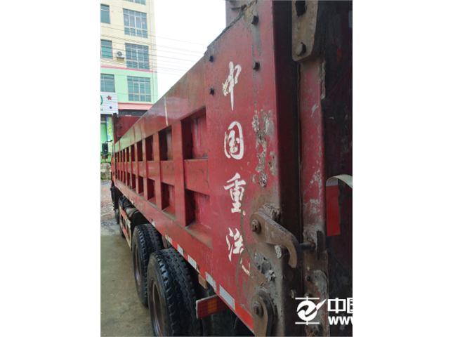 中国重汽 豪沃  HOWO重卡 375马力 8X4 自卸车(侧翻)(ZZ3317N4067C1)