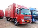 东风 天锦 中卡 180马力 4X2 7.7米排半厢式载货车