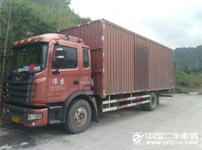 江淮 江淮 亮剑者 载货车 中卡 158马力 4X2 前二后四  厢式