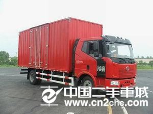 一汽解放 J6 载货车 140马力 4X2 前二后四  厢式