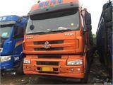 东风柳汽 乘龙 载货车 H7重卡 350马力 8X4 9.6米排半仓栅式