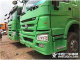 中国重汽 豪沃 豪沃375马力 5.8米货箱 1.5米高栏板 12档厢