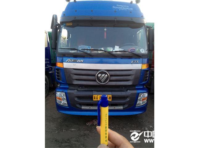 【石家庄】福田 欧曼 etx 5系重卡 210马力 6x2 仓栅载货车(珀金斯)