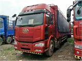 一汽解放 J6 载货车  J6P重卡 350马力 8X4 仓栅载货车