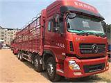东风 天龙 前四后八载货车,雷诺350马力,法士特12档变速箱,9.6米高栏,国四排放