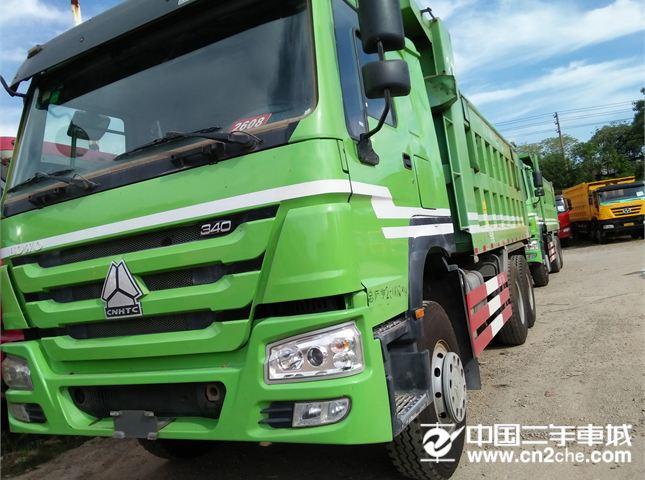 中国重汽 豪沃 自卸车 HOWO重卡 336马力 8X4 自卸车(ZZ3317N4267C1)