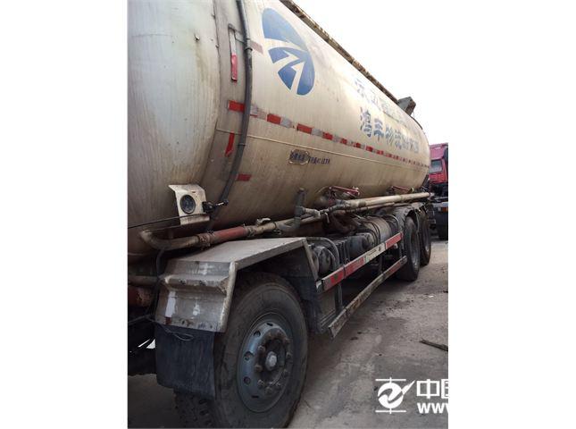 陕汽重卡 德龙F3000 粉粒物料车 水泥罐车