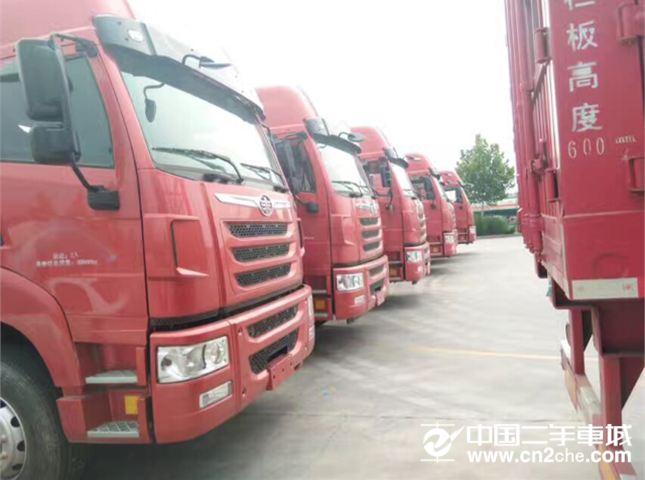 解放 天V 牵引车 重卡 350马力 6X2 牵引车(CA4226P2K2T3E4A80)