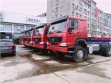 中国重汽 豪沃 豪沃新车,340马力,12档法士特变速箱,海沃红顶,16吨北奔后桥,5.8米货箱,