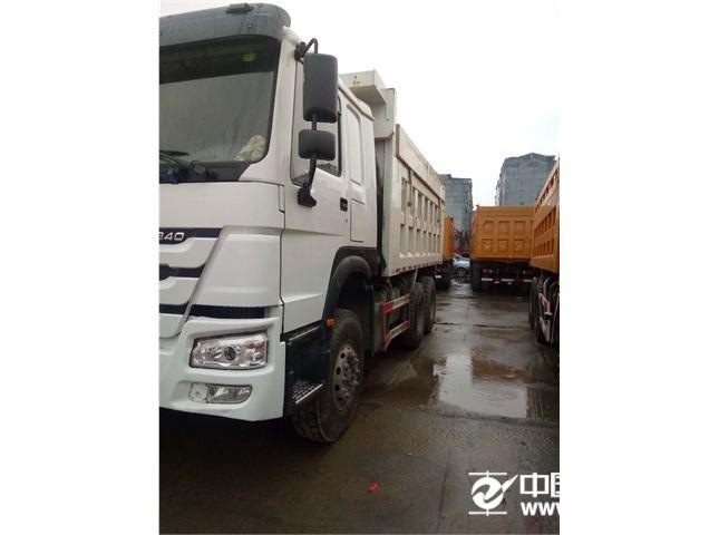 二手自卸车中国重汽豪沃HOWO重卡336马力8X4全铝制自卸车(QDZ3310ZH46W)价格22.60万