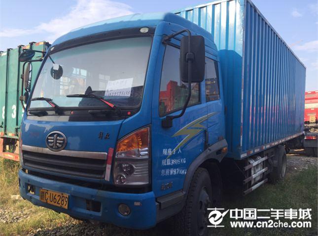 解放 龙V 载货车 青岛解放 龙V中卡 160马力 4X2 7.7米厢式载货车(CA5160XXYP62K1L5A1E4)