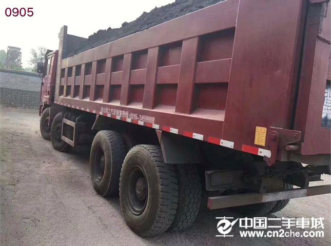 陕汽重卡 德龙 前四后八340马力,7.6米大箱