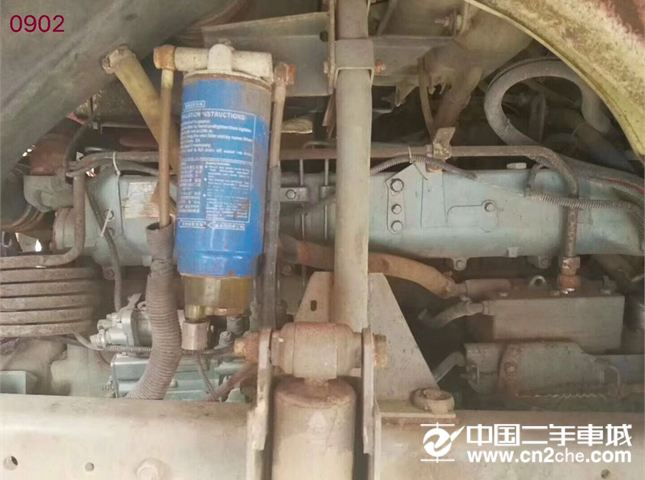中国重汽 豪沃 12年豪沃后八轮自卸车,5.8米大箱