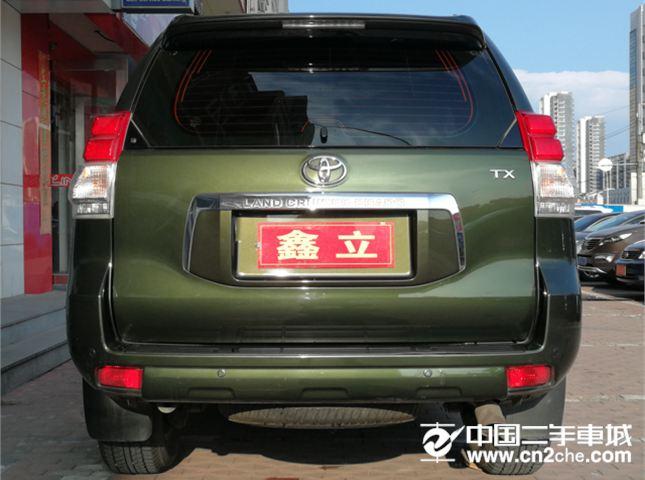 【沈阳】2014款二手丰田 普拉多(进口) 2.7l 自动标准版 价格31.60万