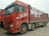 一汽解放 J6 载货车 420马力 8X4 前四后八  厢式(轻量化)